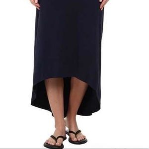 Columbia casual midi skirt